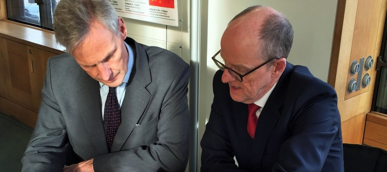 Richard Drax meeting Nick Gibb MP