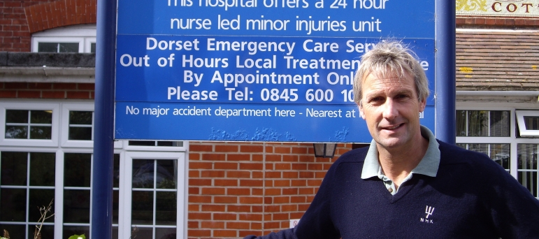 Reprieving Swanage community hospital